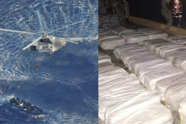 What border crisis? Nearly three tons of cocaine seized that was bound for New York City