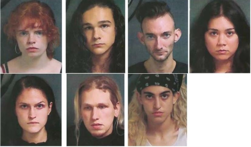Irony: When people with so-called white privilege are arrested for rioting against white privilege