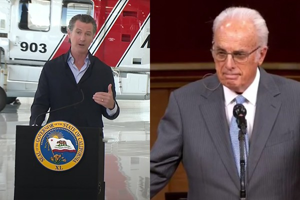 """Gov. Newsom threatens pastor with jail. Pastor: """"I'm open for a jail ministry... bring it on."""""""