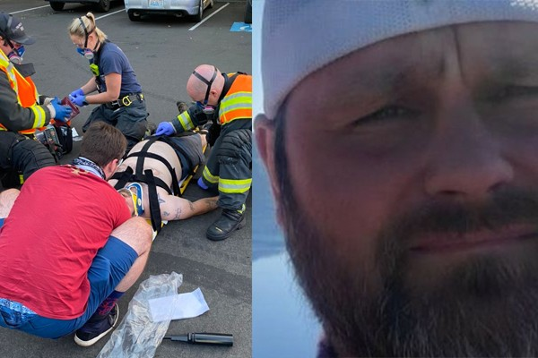 Member of conservative group run over by leftist following vigil in Washington - media silent