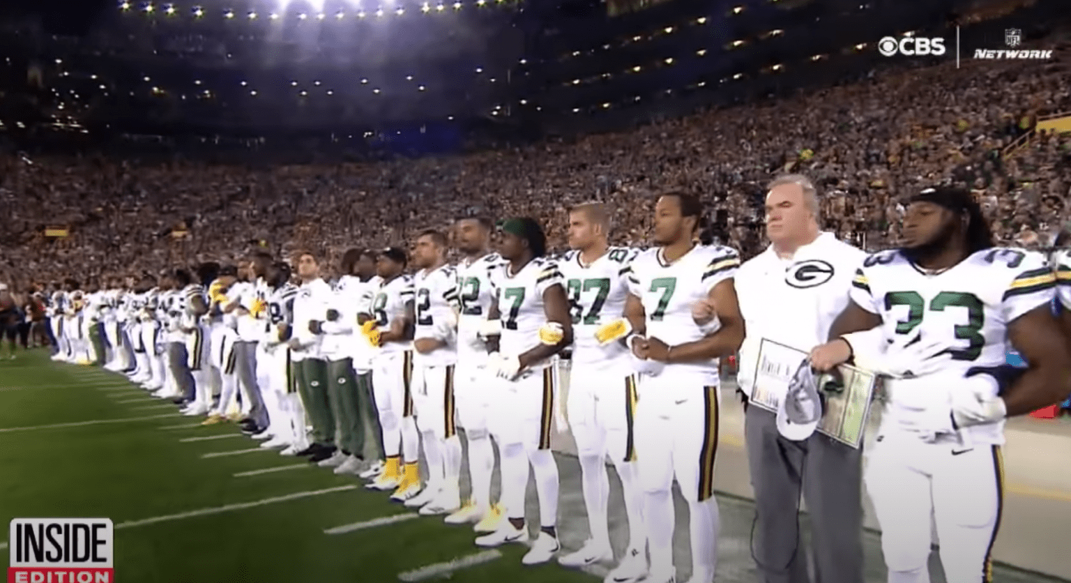 Who needs football? Green Bay Packers to start pushing for voter registration, police body cameras