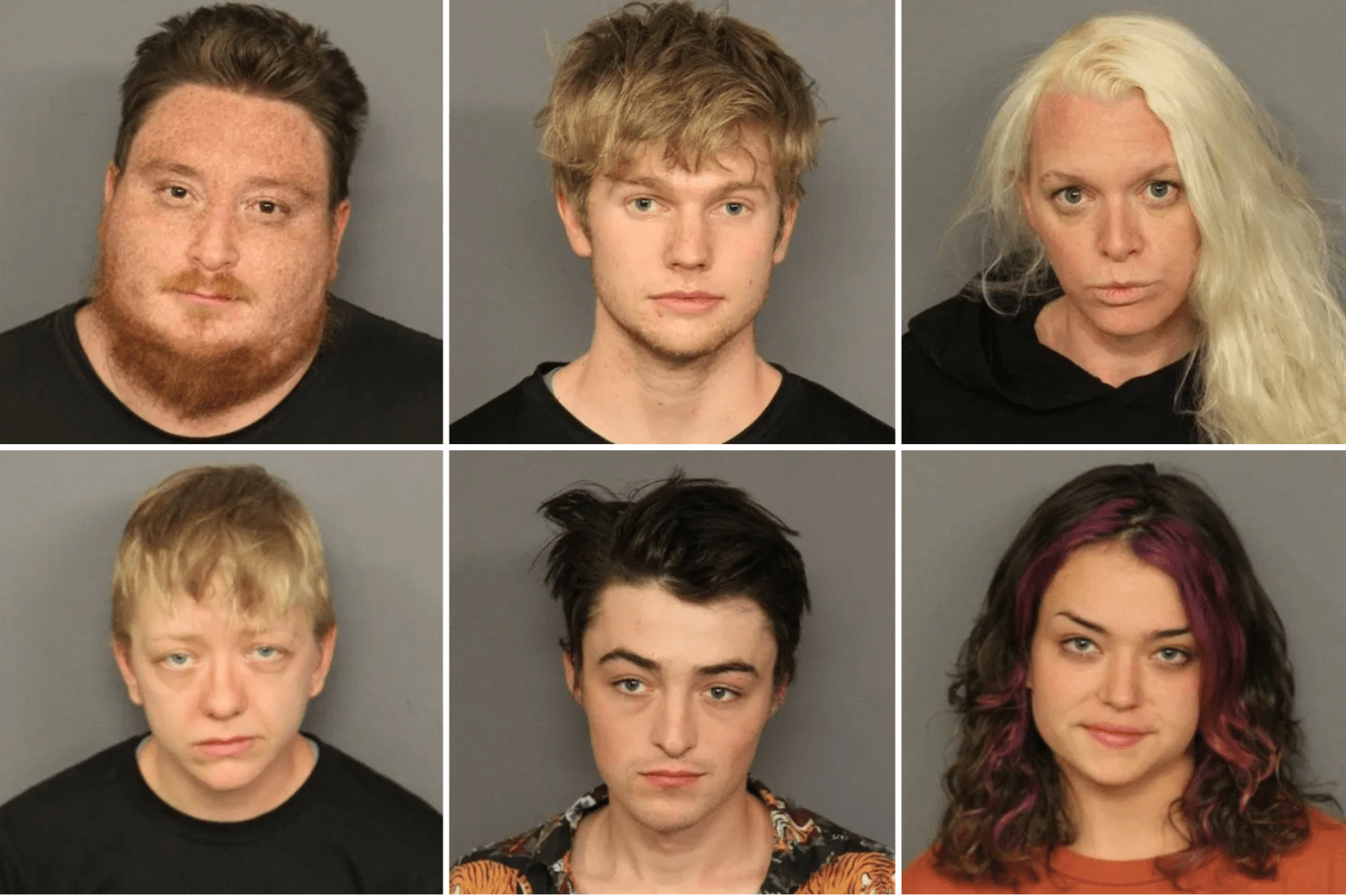 Nine people arrested for trying to break into a police academy while carrying 'destructive tools'