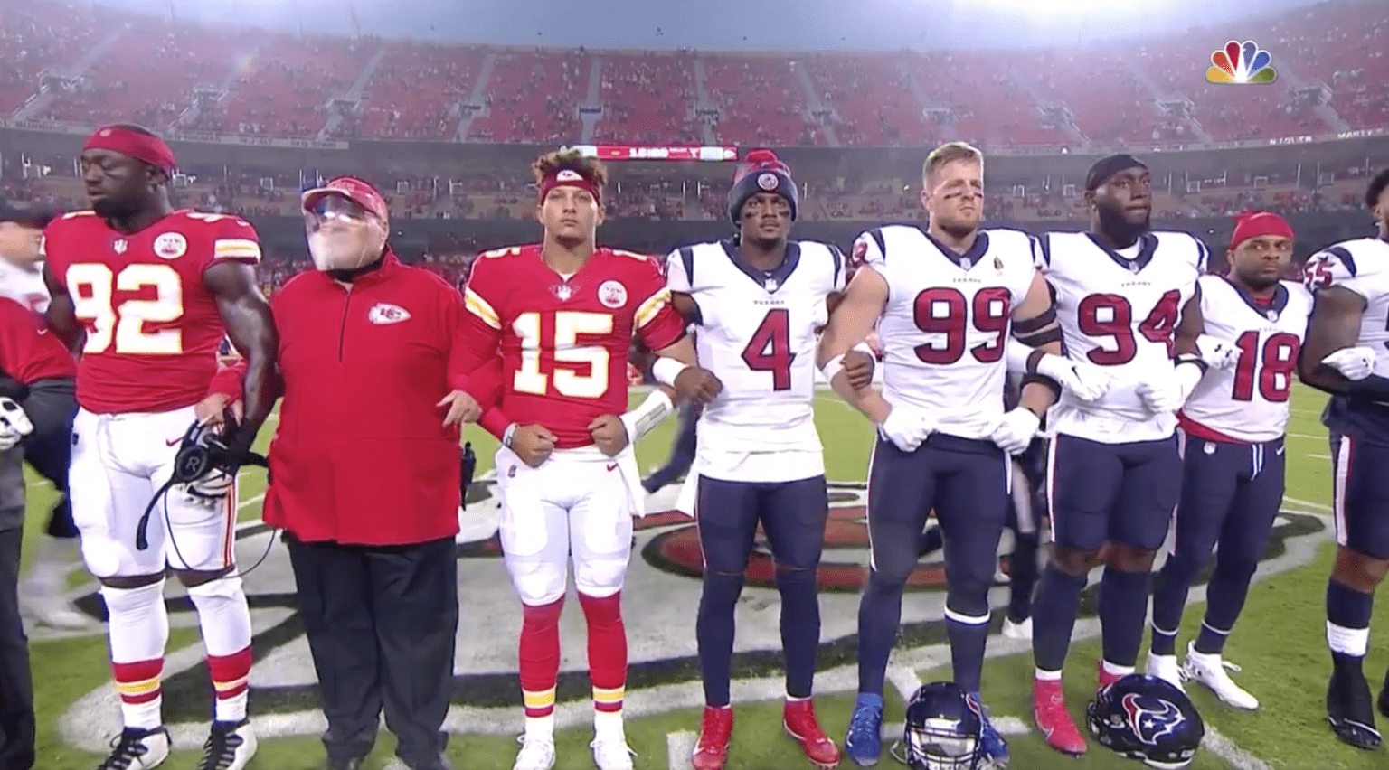 Get woke, go broke: NFL fans boo during Chiefs and Texans game, signaling they're sick of politics