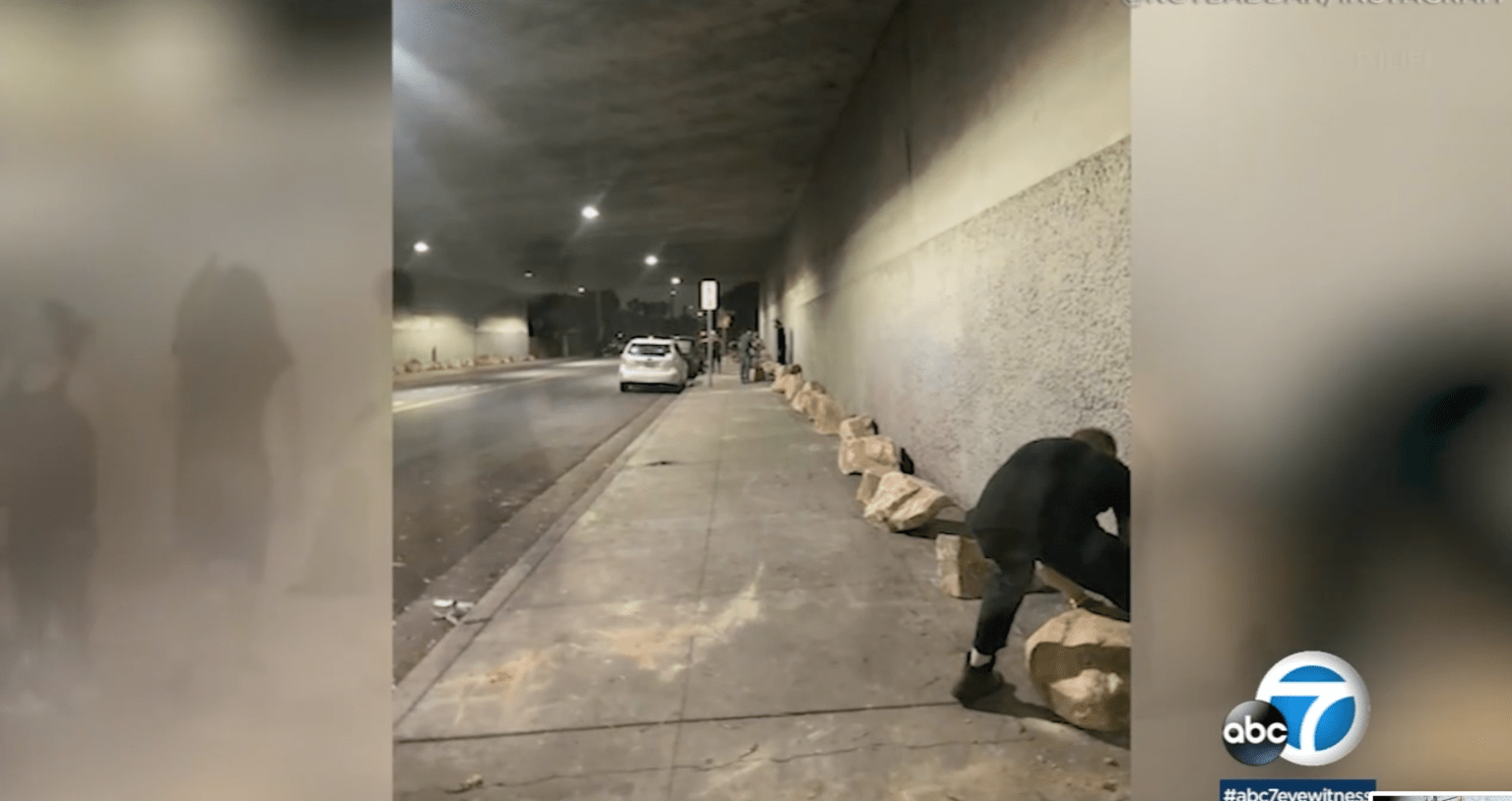 L.A. refused to handle homeless problem, so locals handled it themselves - and were threatened with criminal charges