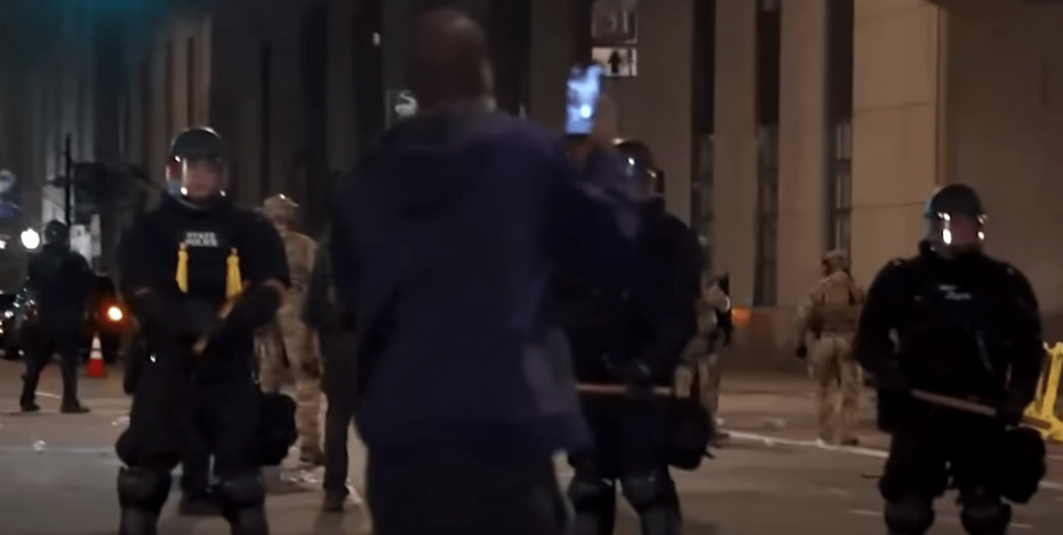 Rochester officers allowed to cover their name tags as protesters threaten their families