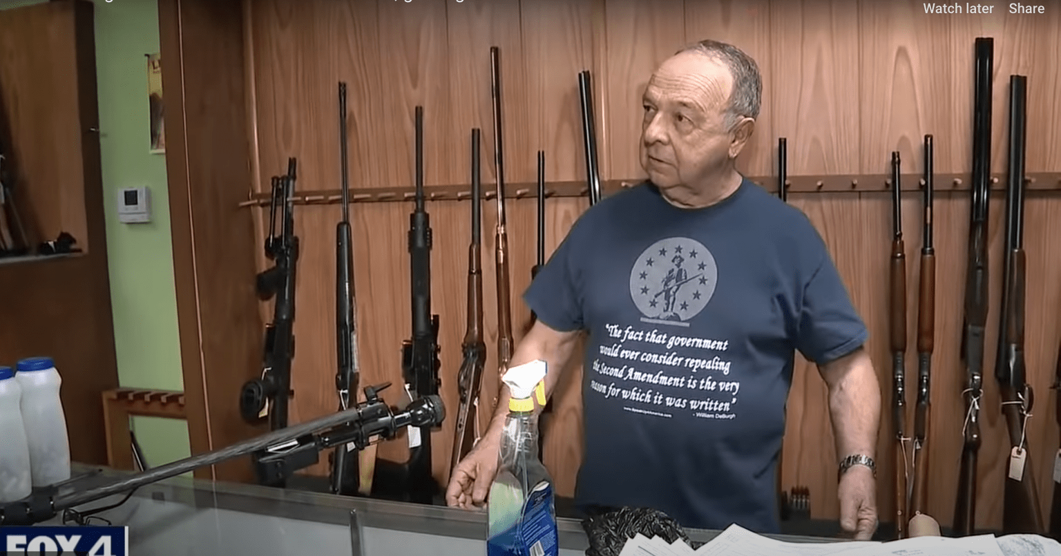 Gun store owner being robbed fakes heart attack, grabs gun, shoots bad guy: 'I've got more ammo'