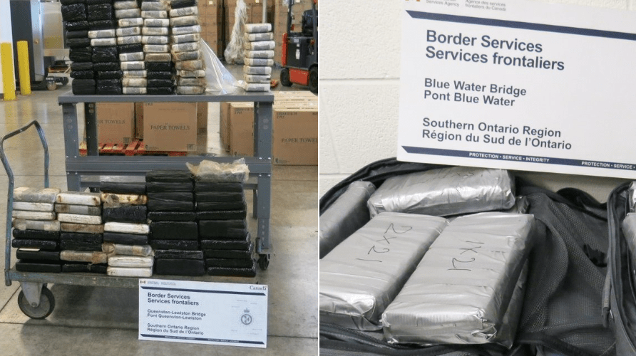 "Trucker arrested after $10M cocaine bust crossing the border - ""We're seeing an uptick in trafficking"""