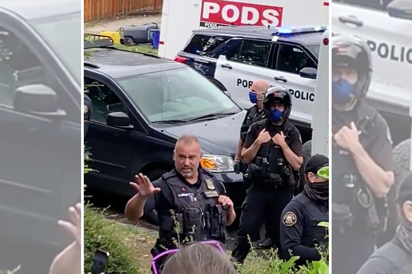 Portland Police confiscate van load of shields, other 'weapons' from Antifa supporters
