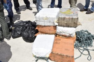 $6 million in cocaine seized by the Coast Guard and Navy in the Caribbean Sea off the coast of Puerto Rico.