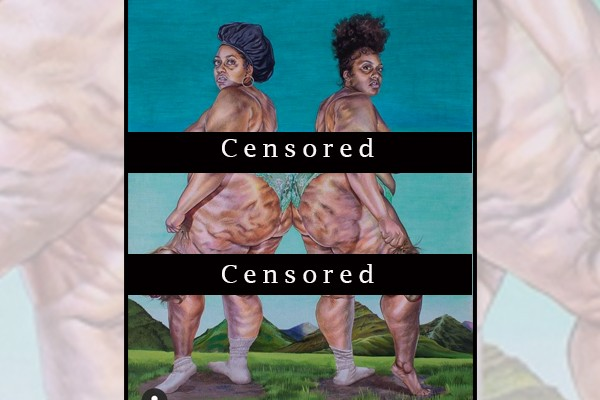 "Instagram allows depiction of topless black women holding severed heads of white people - not ""offensive content"""