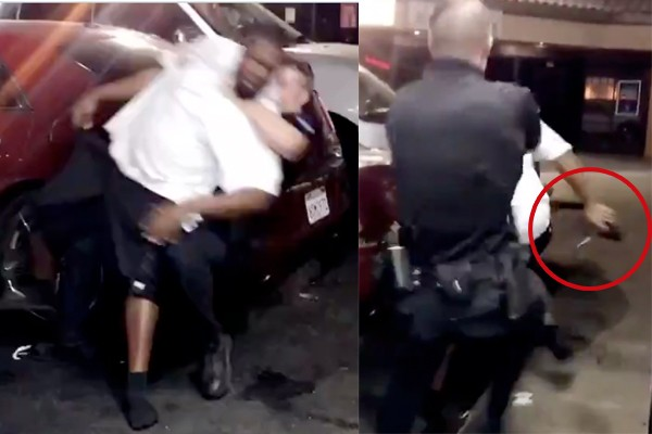 """Protesting begins """"immediately"""" after officer shoots armed suspect in California"""