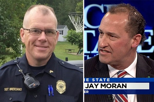 Police-bashing mayor skips funeral of fallen officer to go on radio show and pay tribute to dead groundhog