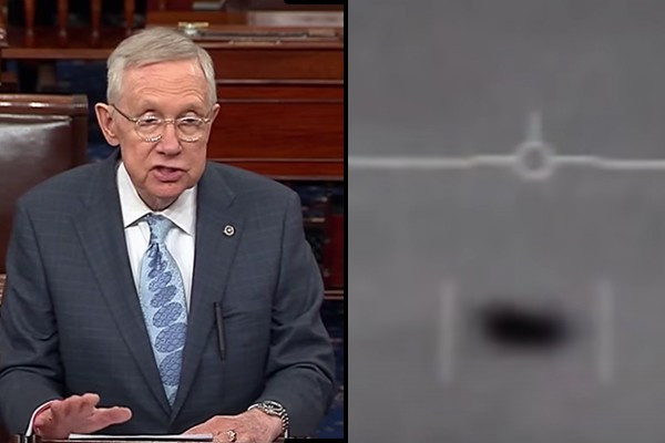 Only in 2020: Former Senate Majority Leader Harry Reid claims government is withholding UFO evidence