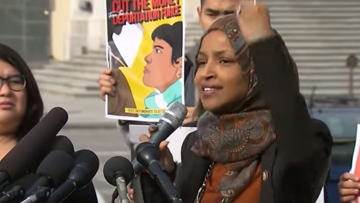 Traitor in office: Rep. Ilhan Omar now reportedly wants to defund the police and the military
