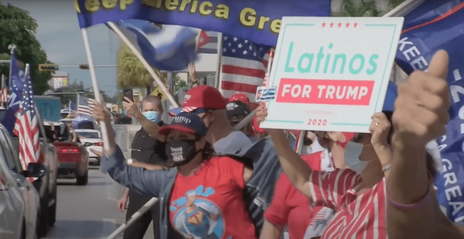 Where's the media? 30,000 vehicles show up for Latinos for Trump parade in Miami
