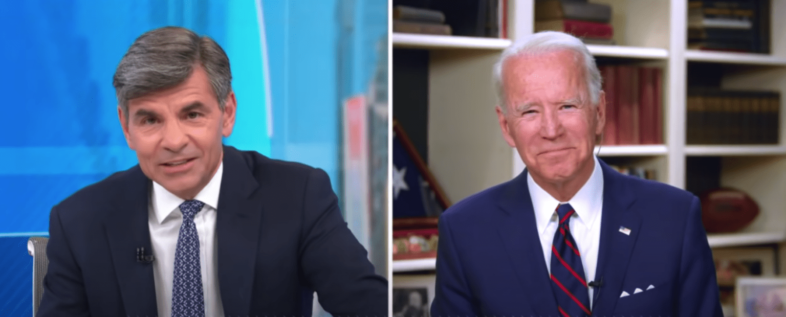"""""""Moderator"""" George Stephanopoulos neglects to ask Joe Biden about Hunter's bombshell emails (op-ed)"""