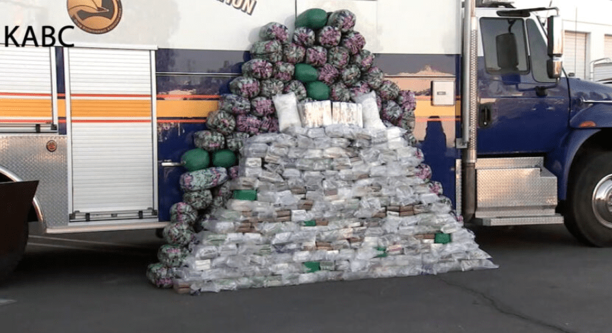 What border crisis? Largest domestic meth bust in DEA history made - worth $18.5 million