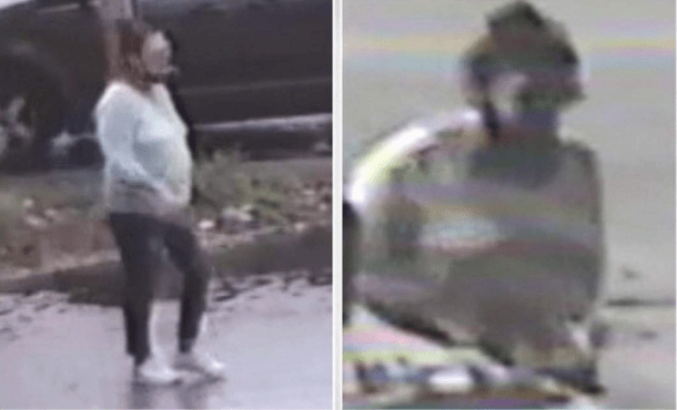 Police need your help finding a woman who broke into a 96-year-old woman's home and ripped a chain right off of her neck