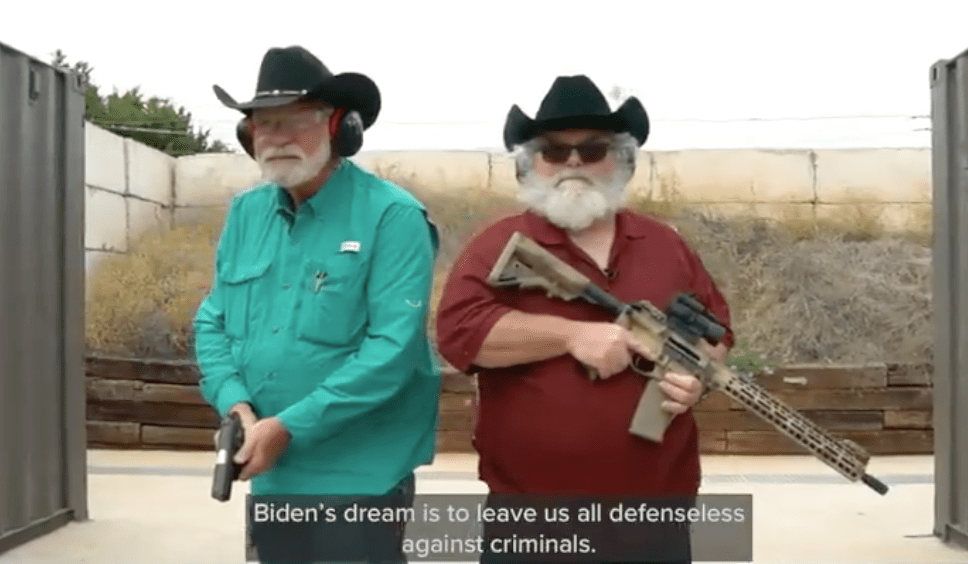 """Heroes in two Texas church shootings send urgent warning to America, say Biden gun control policy """"insane"""""""
