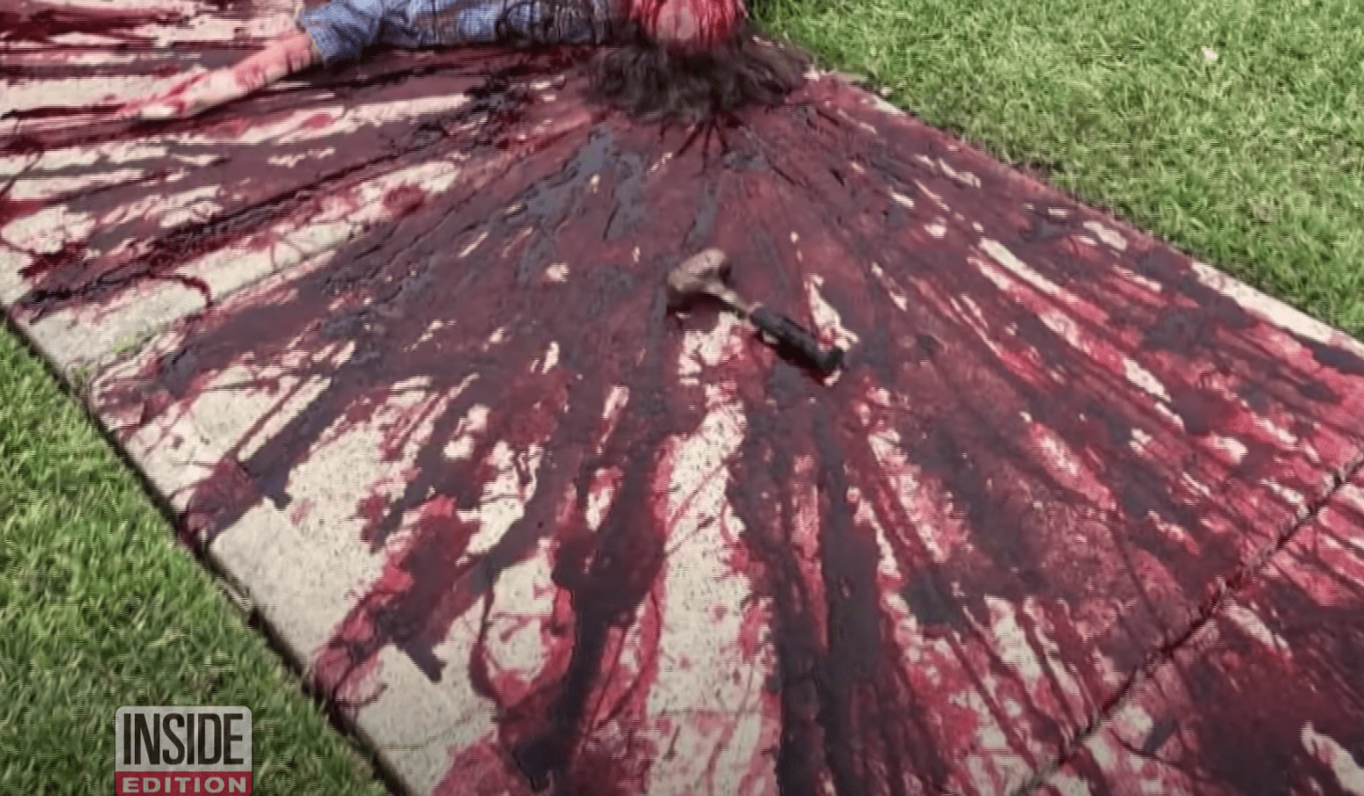 Man rolls out a Halloween display so gory and horrifying people keep calling the police on him