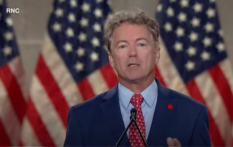 Sen Rand Paul (R-KY) says Senate Democrats don't want a judge for SCOTUS, they want a politician