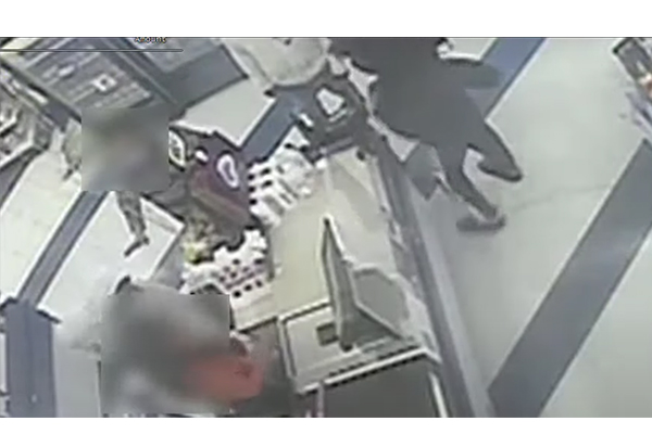 Watch: Insane melee during robbery at 99 Cent store - now police are hunting for the robbers