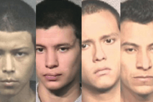 Five illegal immigrant MS-13 gang members charged in the murder of a Houston police informant