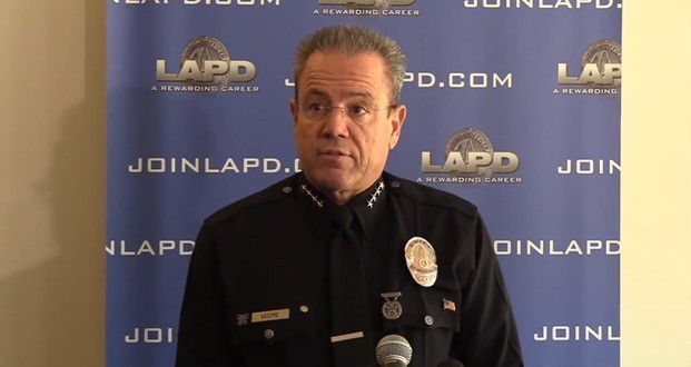 LAPD Chief Moore