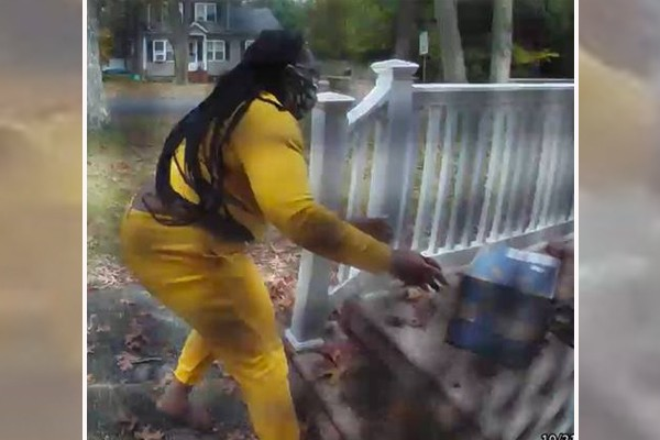 Caught on Camera: 'Porch pirate' steals 6-year-old's birthday LEGO set, police need help identifying her