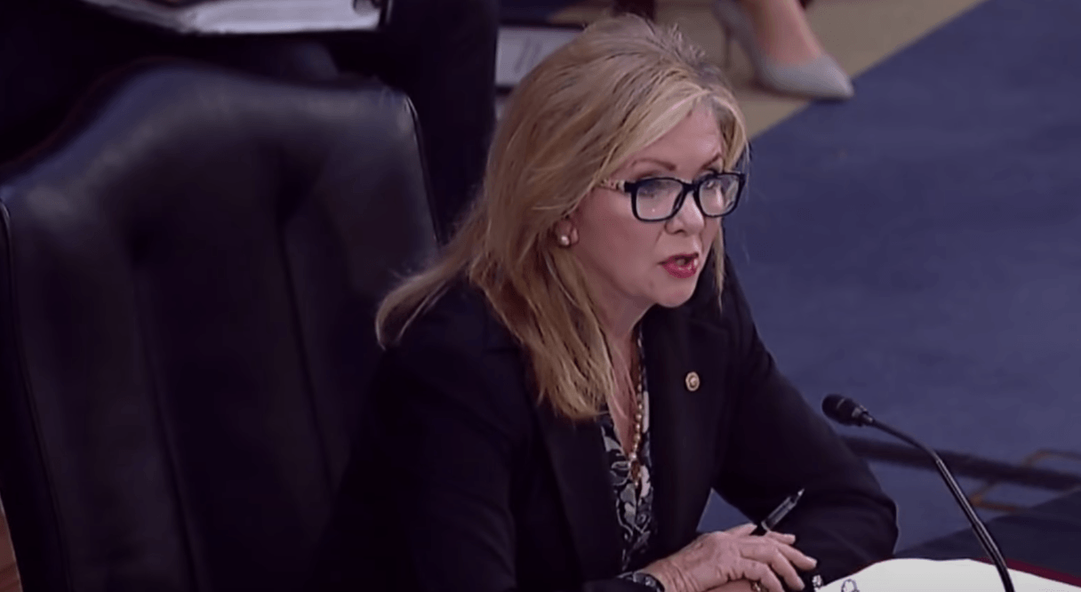 Sen. Blackburn goes after radical leftists looking to target Trump supporters with political hit list
