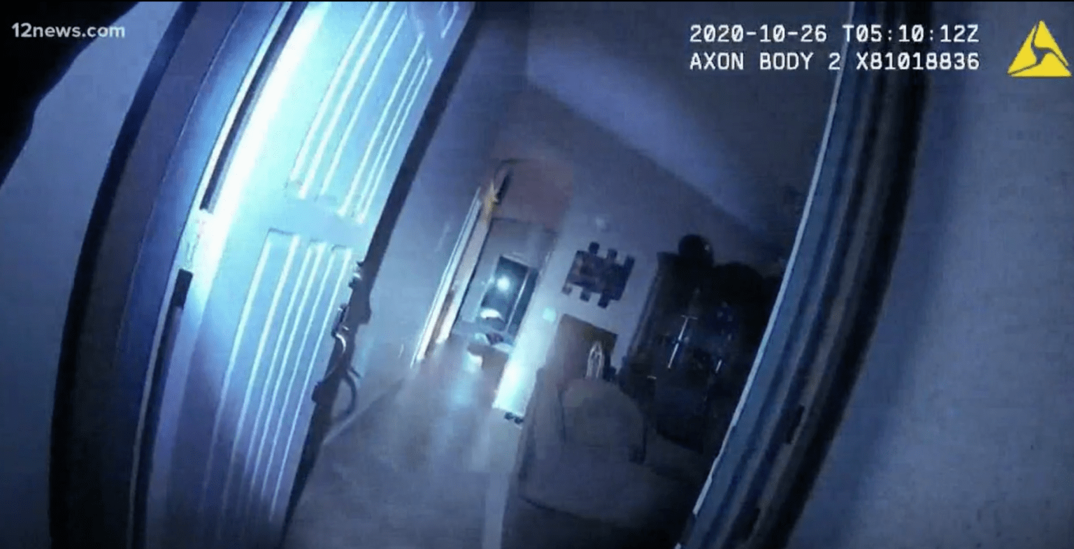 Bodycam video shows deadly Phoenix police shooting of man who killed family