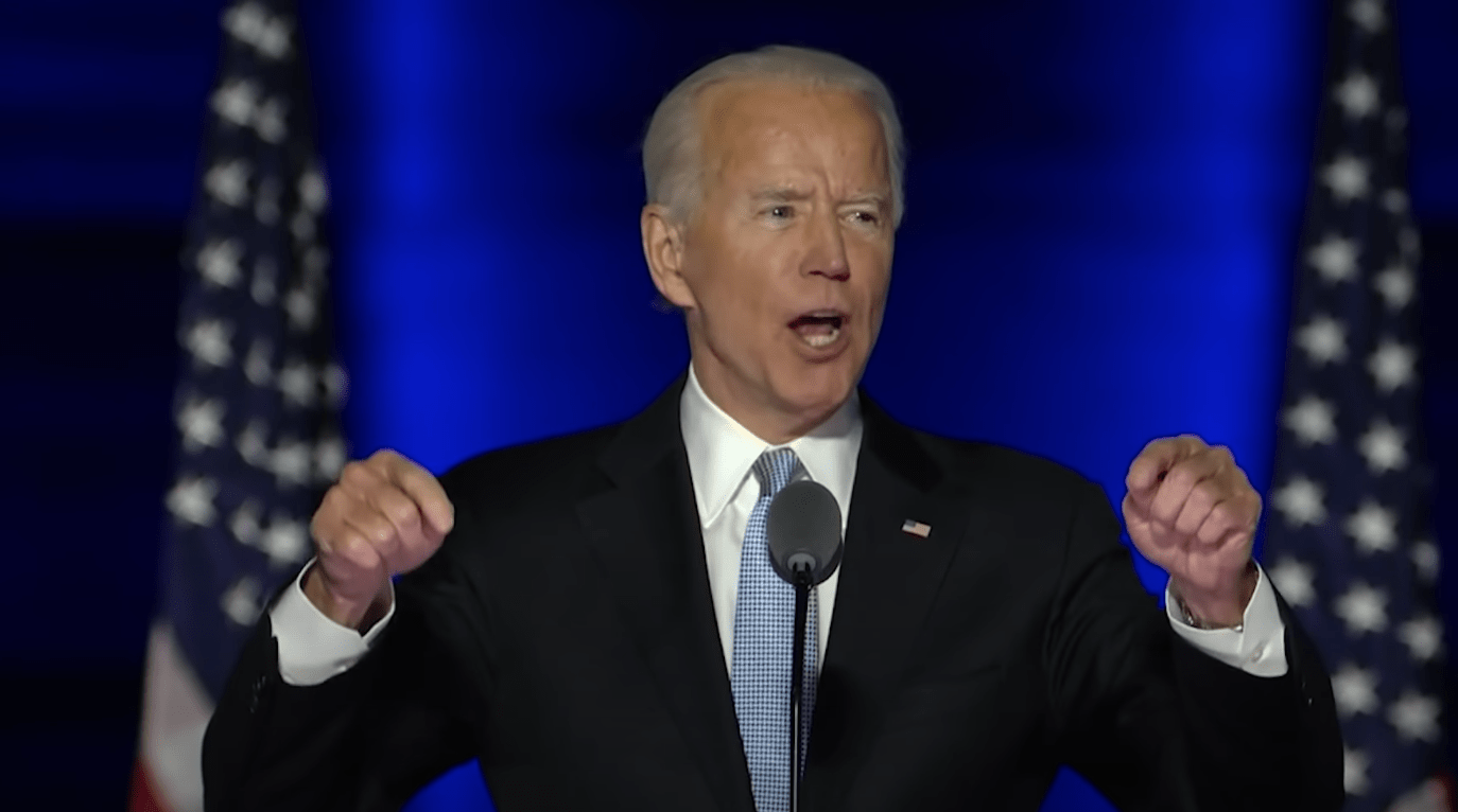 "During 'acceptance' speech, Biden calls for ""unity"" after spending campaign comparing Trump to Nazis"