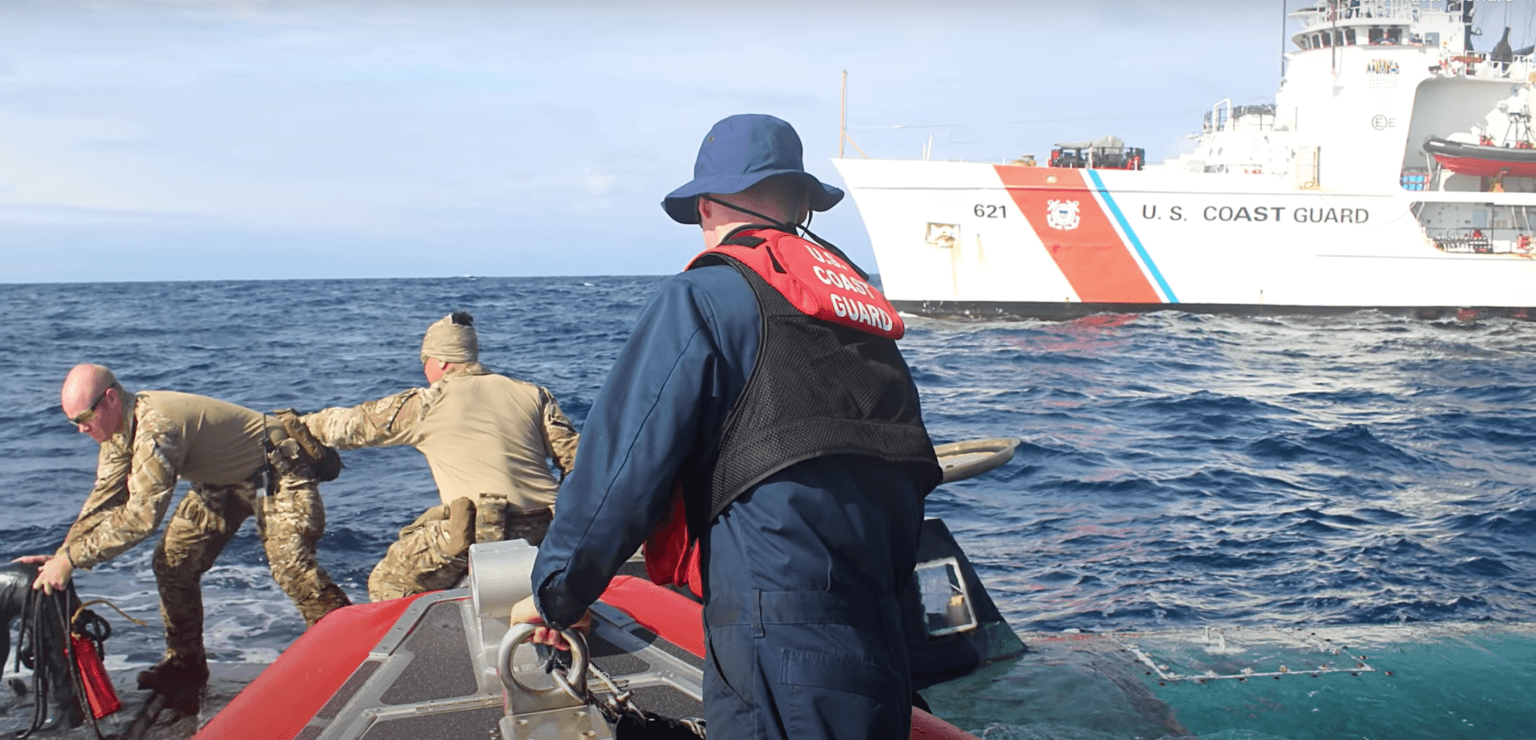 The US Coast Guard successfully stopped almost 40 narco submarines in 2019, with more being intercepted this year.