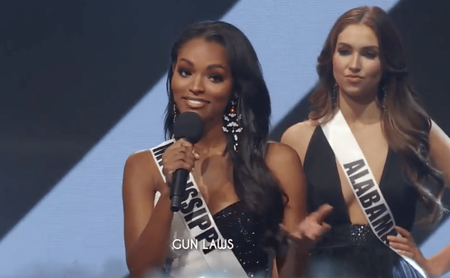Gasp! Newly crowned Miss USA Asya Branch is a pro-gun patriot who met with President Trump