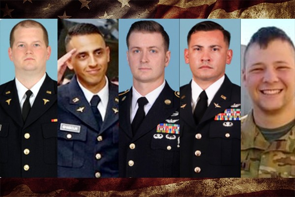 5 American soldiers among 7 killed in helicopter crash in Egypt during peacekeeping mission