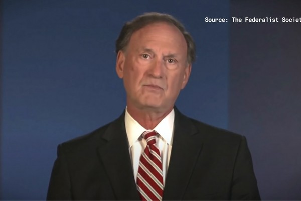 Supreme Court Justice Alito says pandemic resulting in 'unimaginable' restrictions on individual liberty