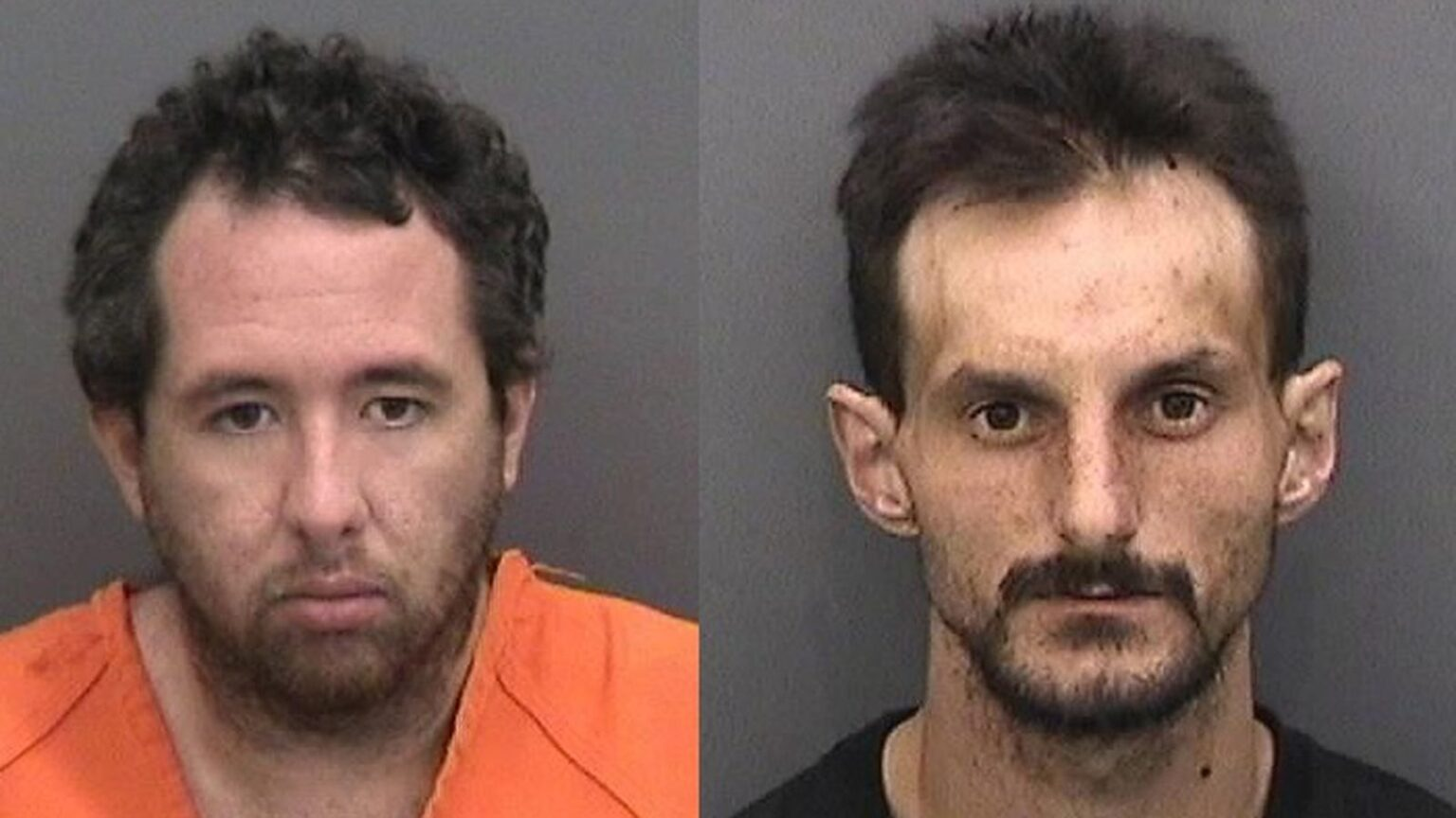 War on law enforcement: Two men arrested for setting fire to a police car in synagogue parking lot
