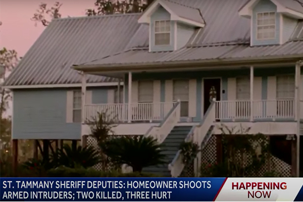 Hero dad: 4-year-old shot during home invasion, father shoots all 4 suspects