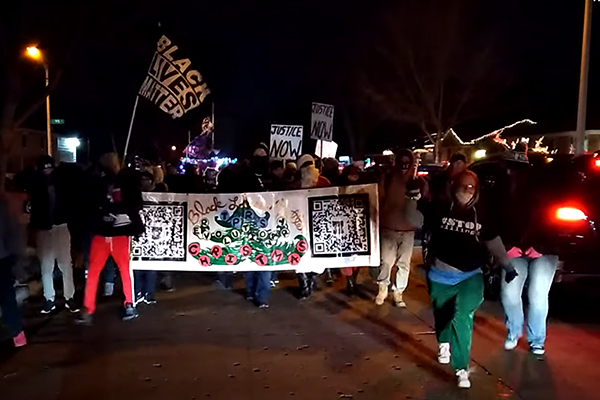 Black Lives Matter supporters harass attendees at Wisconsin Children's Christmas charity fundraiser