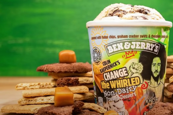Ben & Jerry's make Colin Kaepernick themed flavor, donates proceeds to group that slams police
