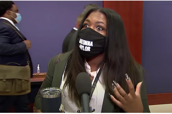 Rep. Cori Bush wants To 'defund the police' but spent taxpayer money on private security