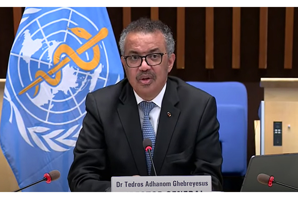 World Health Organization leader Dr Tedros Adhanom Ghebreyesus may be prosecuted for genocide