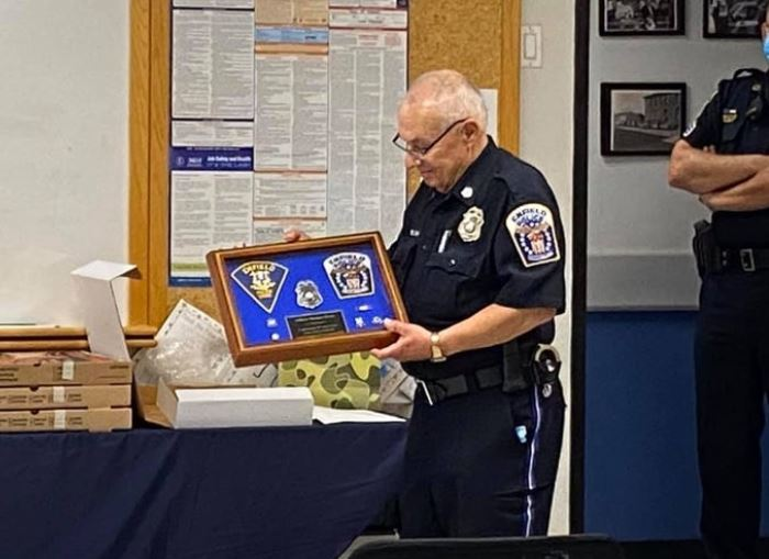 Police officer who served for 50 years dies just months after retirement - in the police department