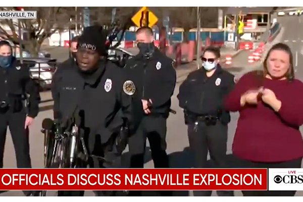 Hero cop credits God with saving his life before Nashville explosion: 'I heard God tell me to turn around'