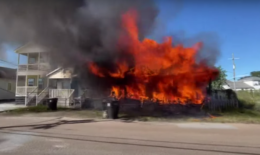 Closest engine to deadly fire out of service due to furloughs - Screenshot courtesy of WWLTV on YouTube