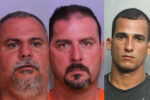 Caught them!  Three men in custody after police say they ran over a Florida officer with an ATV