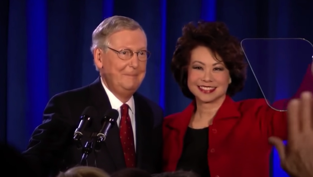 Schweizer: Sen. Mitch McConnell and his wife are financially connected to Chinese government.  Here's how.