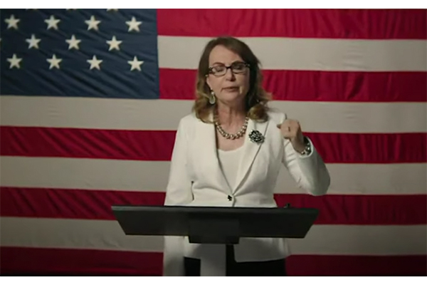 Former Congresswoman Gabby Giffords: 'Police violence is gun violence', urges Hollywood to push for gun control