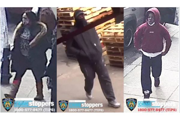 Find them: Group brutally beats man, robs him of phone and clothes in Mayor de Blasio's New York City