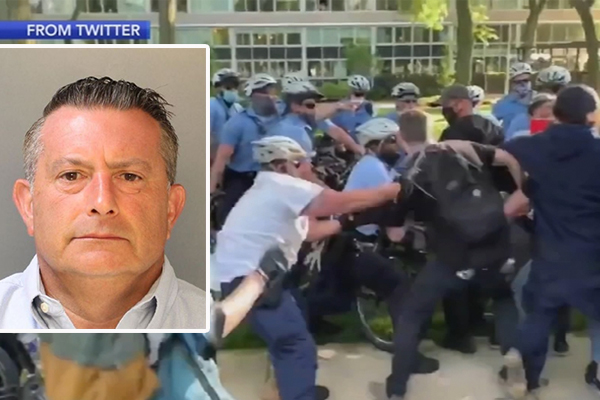 Cleared! Charges dismissed against Philadelphia officer arrested for assault during Floyd riots